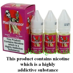 bottles of Mad Professor Pink Vape Juice 30 ML: 80-20 (VG/PG) by VG Vapour