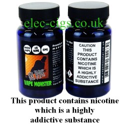 the image shows the bottles of Mr Hyde: 3 x 10 ML E-Juice by Vape Monster