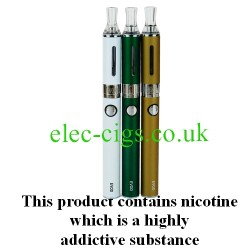 Vapouron Evod E-Cigarette showing all colours