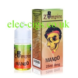 a bottle of Mango E-Liquid by Zompire
