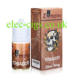 a bottle of Tobacco E-Liquid by Zompire