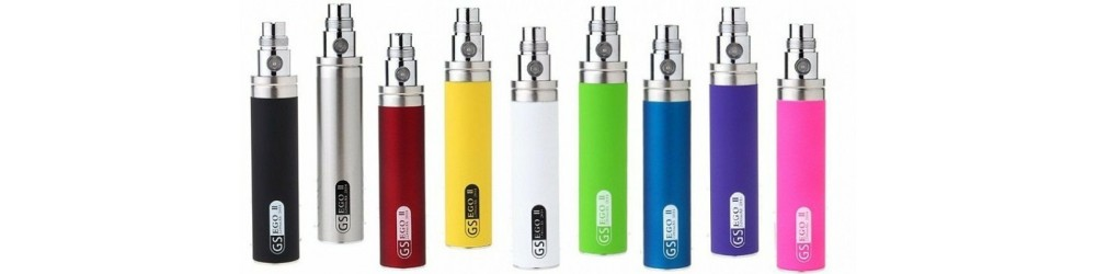 this show the 9 colours for the GS eGo11 2200 mAh Battery