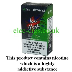 Ice Mint UK Made E-Liquid from Debang in its new retail box