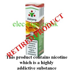 Double Menthol E-Liquid from DeKang