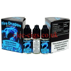 Flying Serpent 30 ML E-Juice by Fire Dragon in its bottle on plain white background
