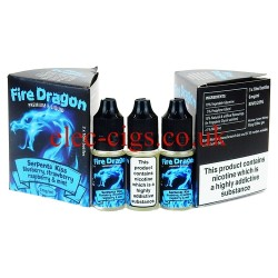Serpents Kiss 30 ML E-Juice by Fire Dragon in its bottle on plain white background