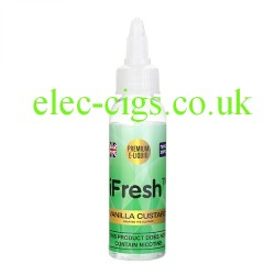 50 ML Vanilla Custard E-Liquid by iFresh