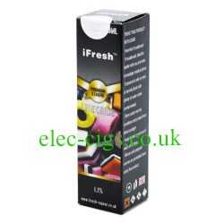 a pack of Liquorice E-Liquid by iFresh on white background
