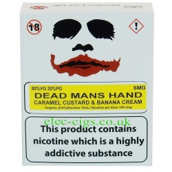 a box of Dead Mans Hand from Joker Juice