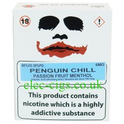 a box of Penguin Chill from Joker Juice