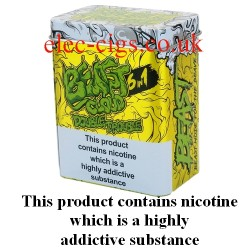 a tin of Double Trouble E-Juice 60 ML (6 x 10ML) from Beast Cloud