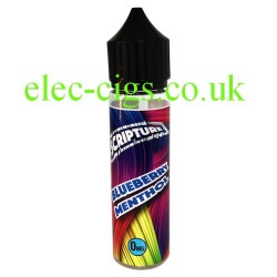 an image of a bottle of Blueberry Menthol 50 ML E-Liquid 50-50 (VG/PG)