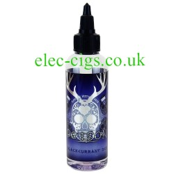 an 80 ML bottle of Poison: Blackcurrant Ice Zero Nicotine 50-50 (VG/PG) E-Juice