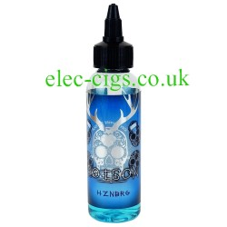 an 80 ML bottle of Poison: Hznbrg Zero Nicotine 50-50 (VG/PG) E-Juice