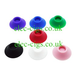 Showing the colours available for the Rubber Suction Stand for E-Cigarettes