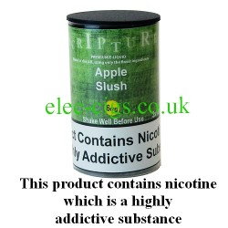 an image of a bottle of Apple Slush 30 ML E-Liquid 50-50 (VG/PG)