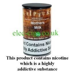 an image of a bottle of Mothers Milk 30 ML E-Liquid 50-50 (VG/PG)